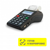 ККТ АТОЛ 91Ф. Черный. c ФН 1.1 15 мес. Ethernet. 2G. Bluetooth. Wi-Fi., 5.0
